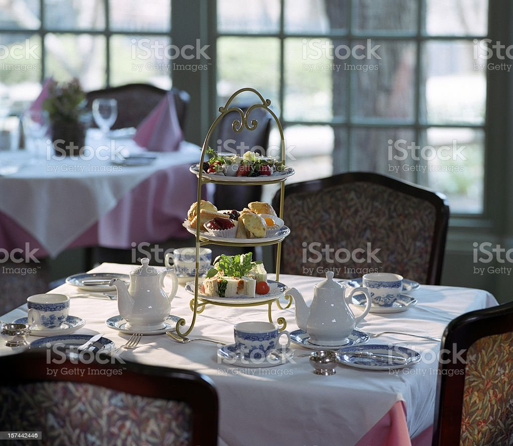 English Tea Time stock photo