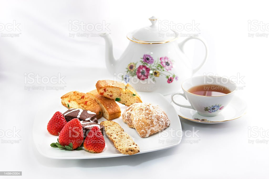 English Teatime stock photo