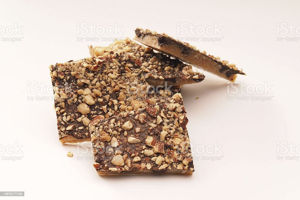 English Toffee stock photo