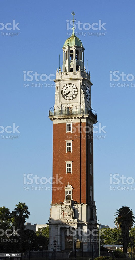 English Tower, Buenos Aires, Argentina stock photo