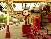 English Train Station