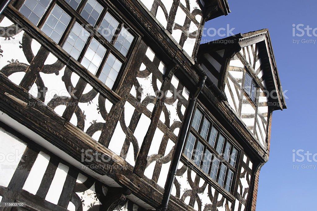 English Tudor House royalty-free stock photo
