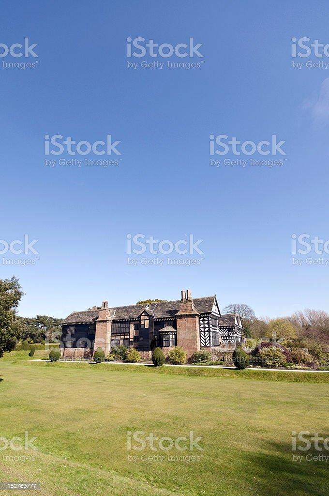 English Tudor Manor House royalty-free stock photo
