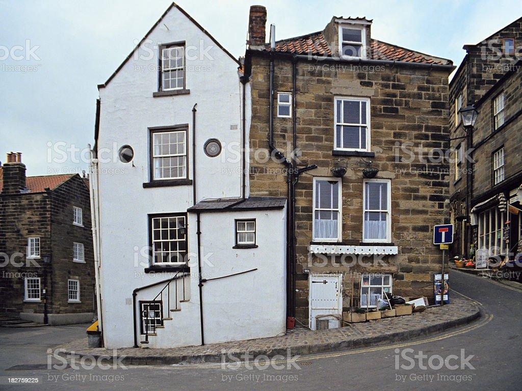 English Village royalty-free stock photo