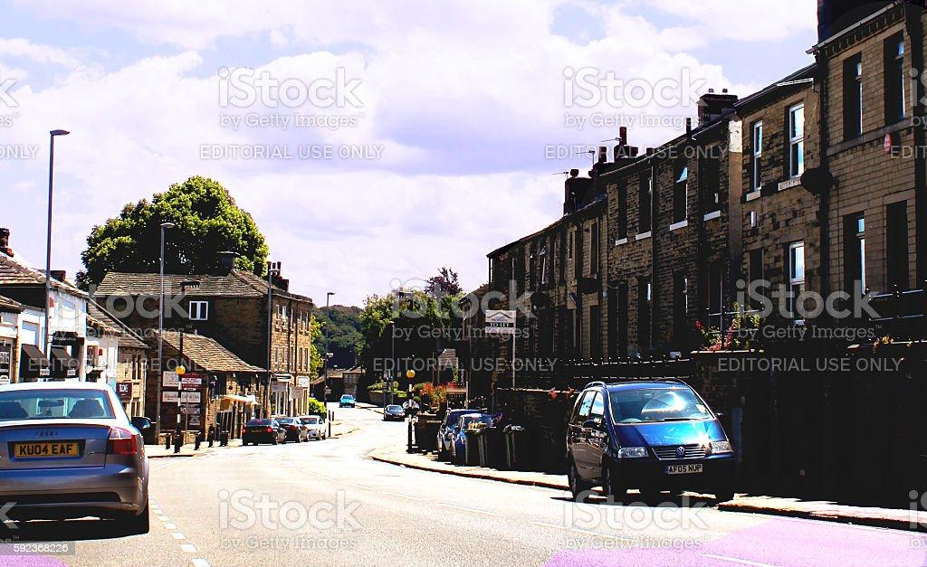 English Village stock photo