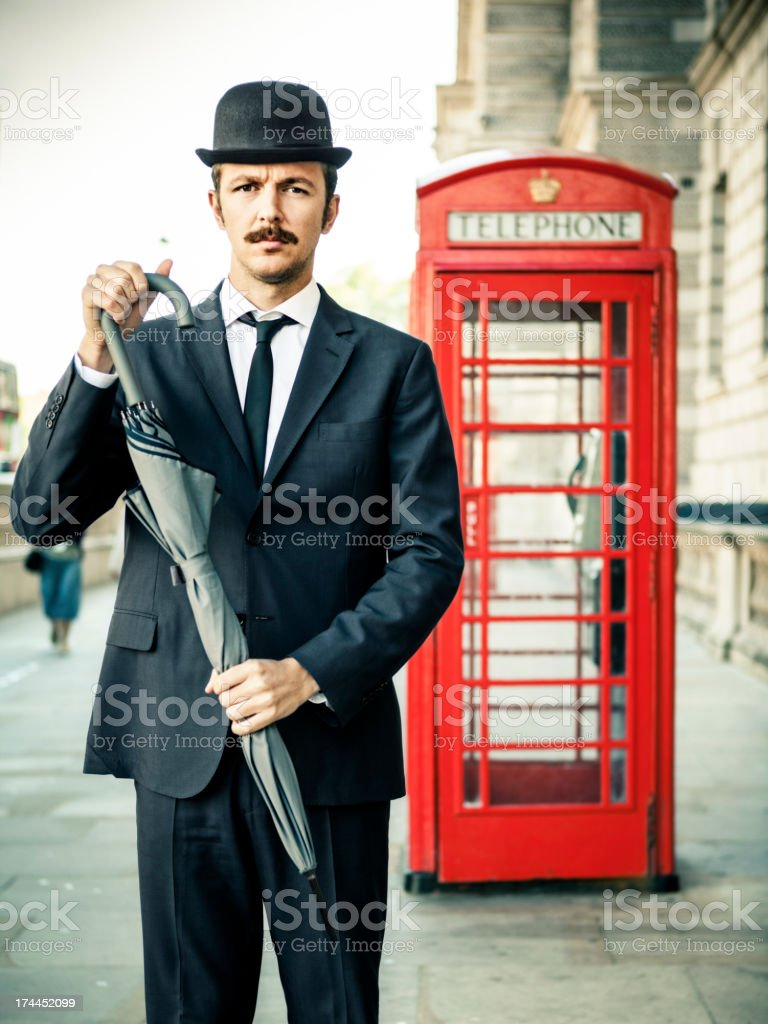Englishman royalty-free stock photo