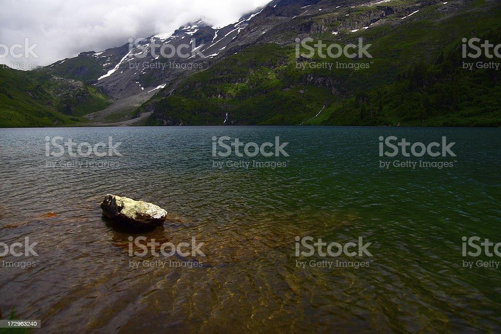Engstlen Lake royalty-free stock photo