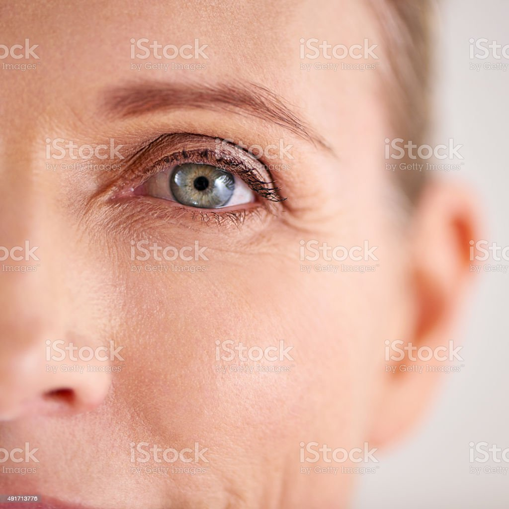 Enhance and preserve the skin you're in stock photo
