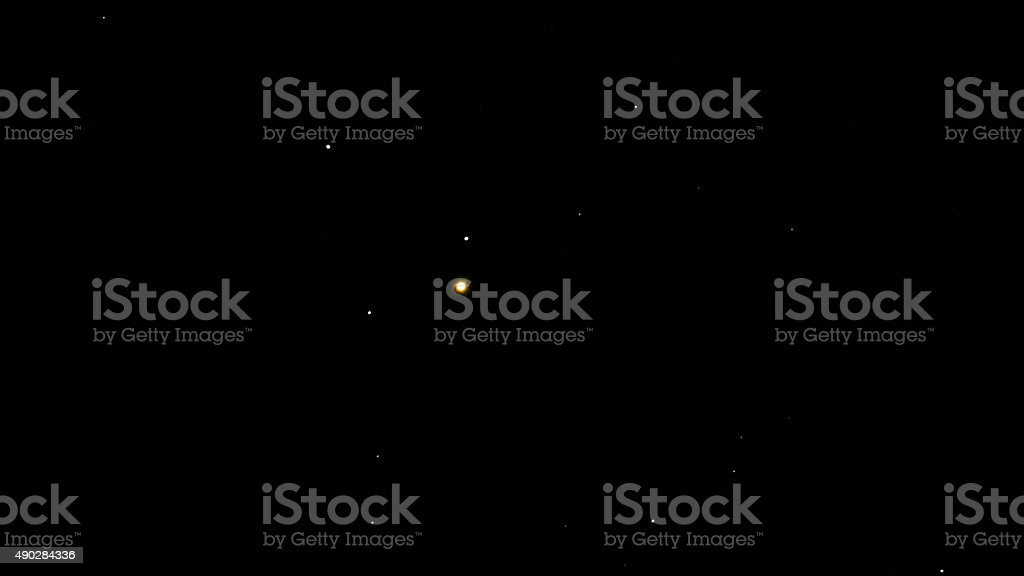 Enif Star Epsilon Pegasus is a triple star stock photo