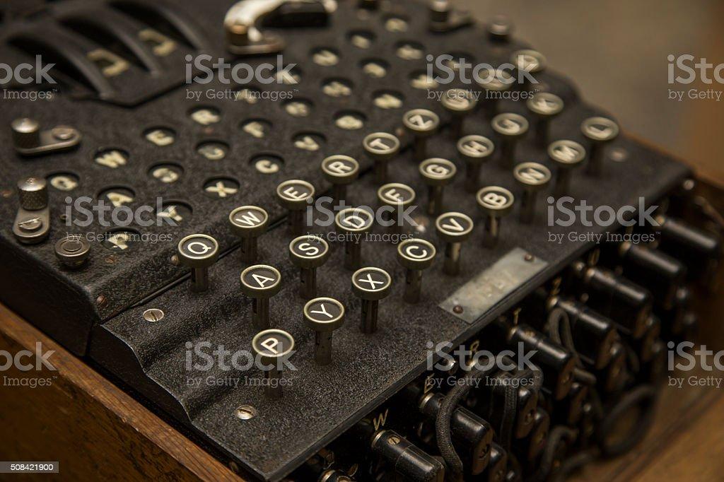 Enigma stock photo