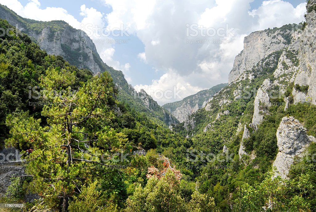'Enipeas gorge, Olympus mt' stock photo