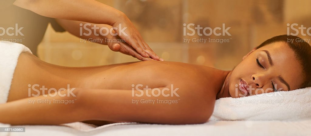 Enjoy a day of pampering stock photo