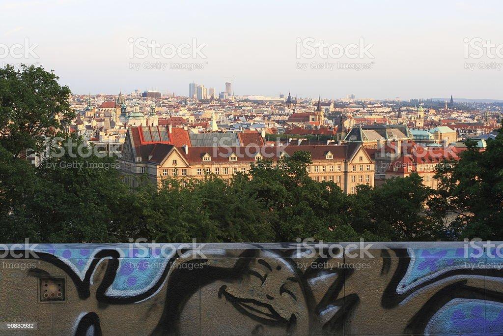 Enjoy City Prague at Fall royalty-free stock photo