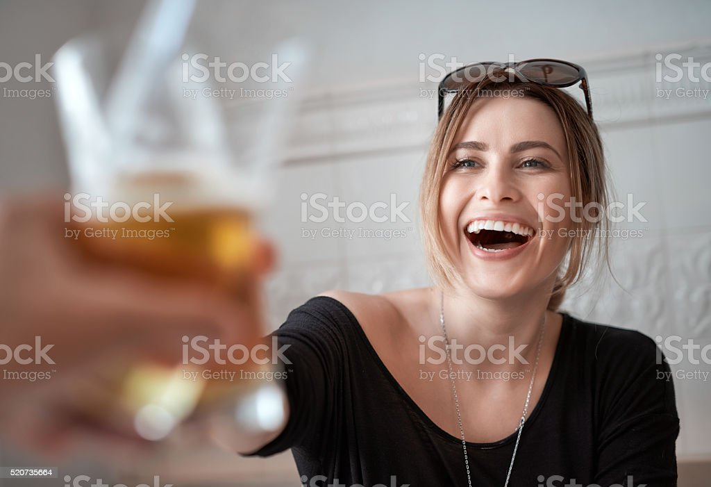enjoy every moment together stock photo