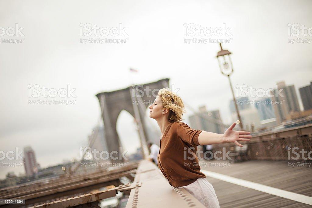 Enjoy New York City royalty-free stock photo