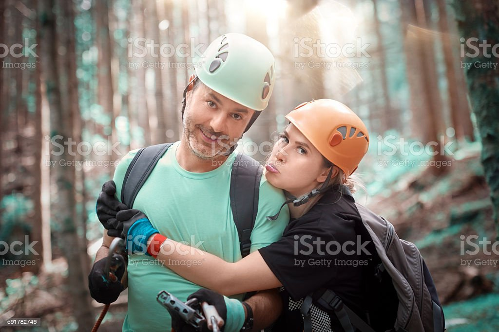 enjoy outdoor activities stock photo