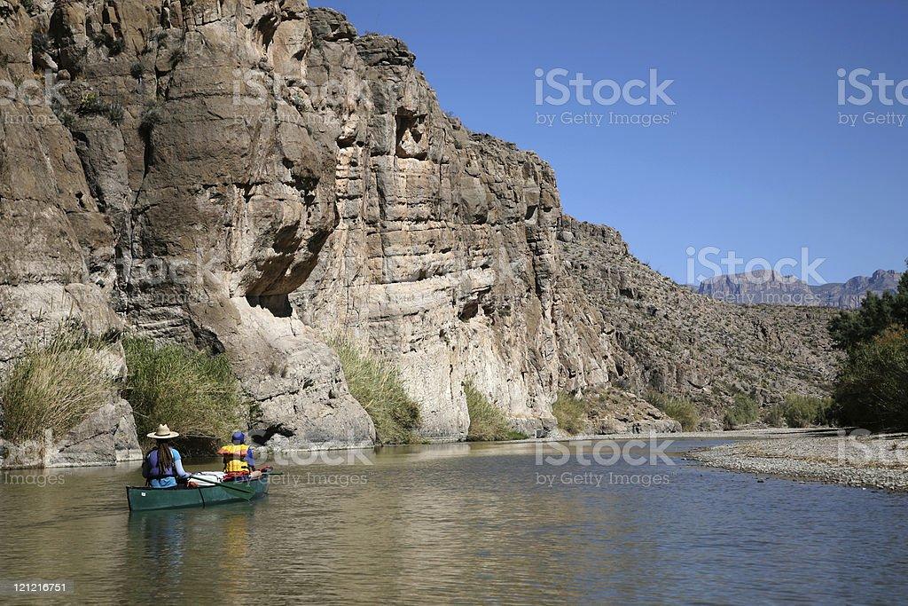 Enjoy River Scenery royalty-free stock photo