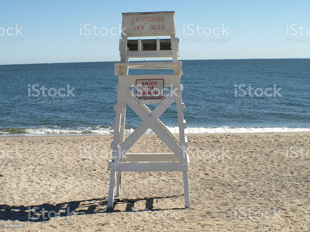 Enjoy The Beach stock photo
