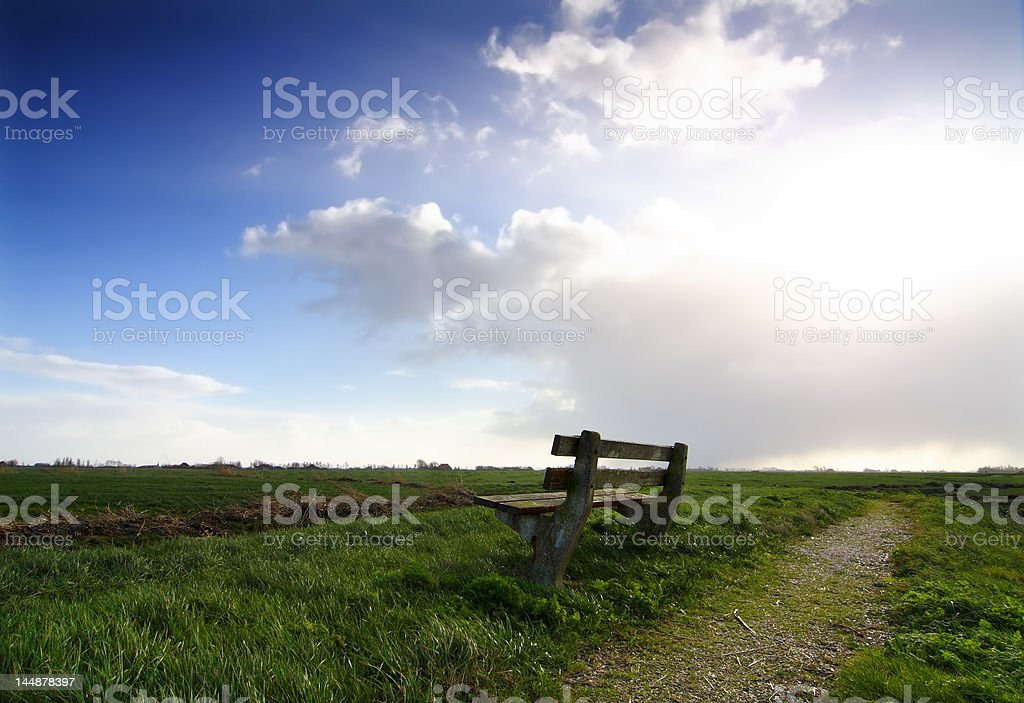 enjoy the view royalty-free stock photo