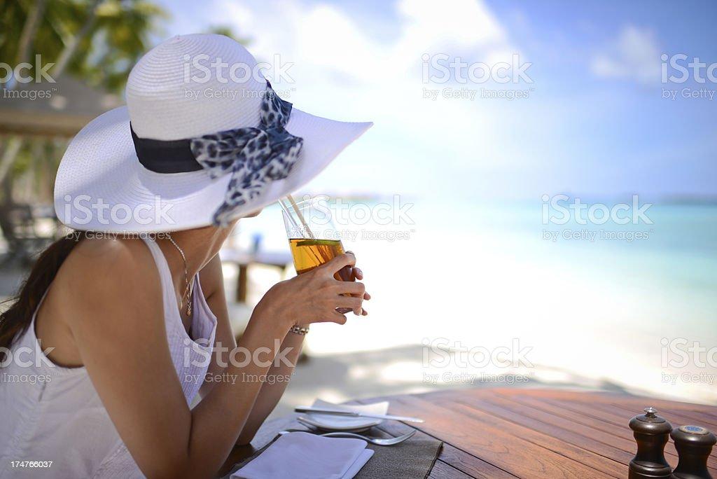 Enjoy Your Vacation stock photo