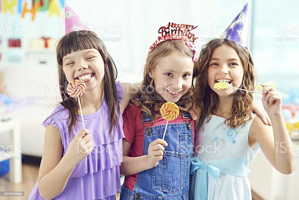 Enjoyable celebration stock photo