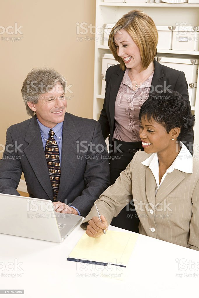 Enjoyable Meeting royalty-free stock photo