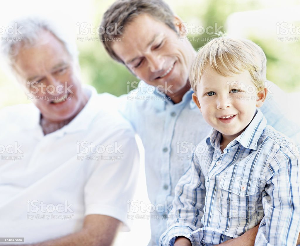Enjoying all the attention! royalty-free stock photo