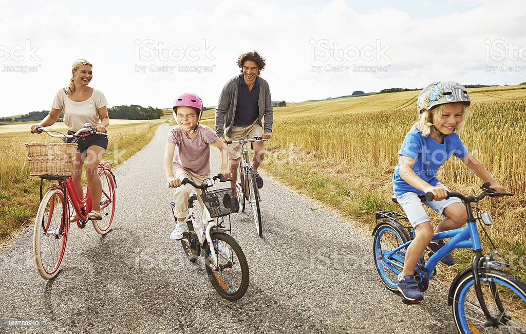 Enjoying an activity we can all do together royalty-free stock photo