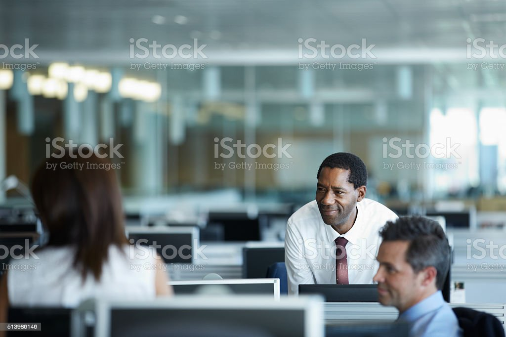 Enjoying an easy going strategy session stock photo