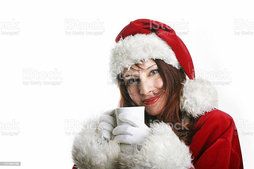 Enjoying Christmas... royalty-free stock photo