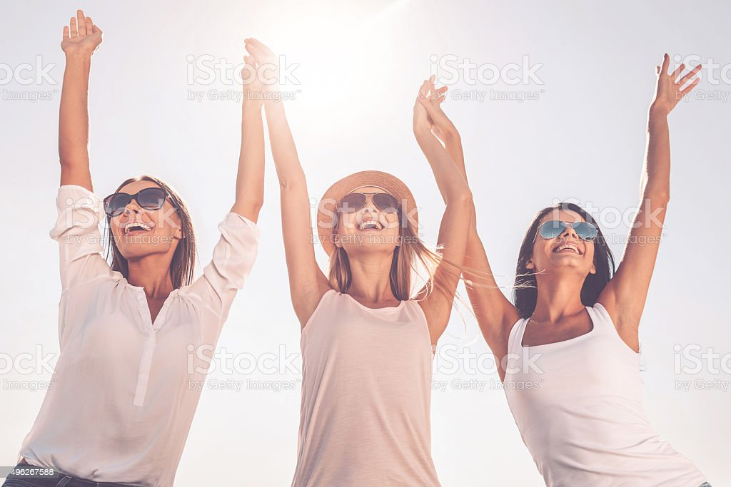Enjoying life. stock photo