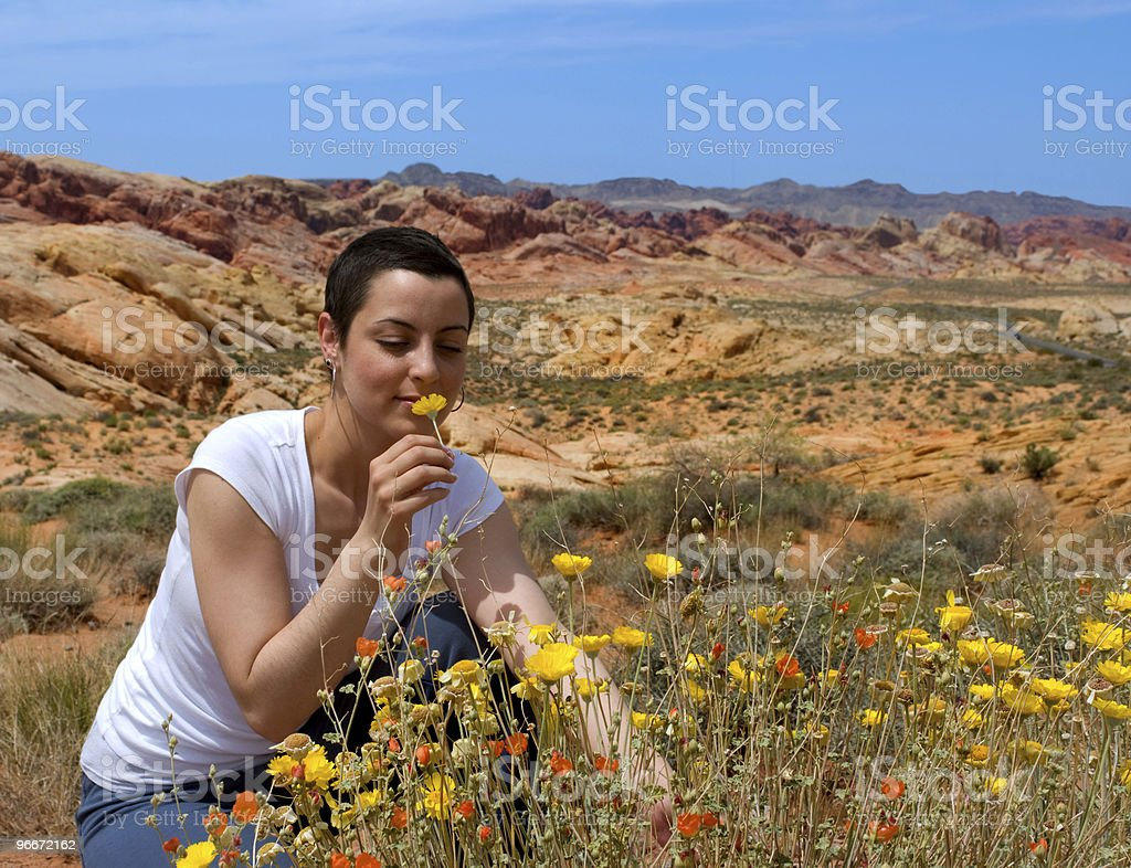 Enjoying Life royalty-free stock photo