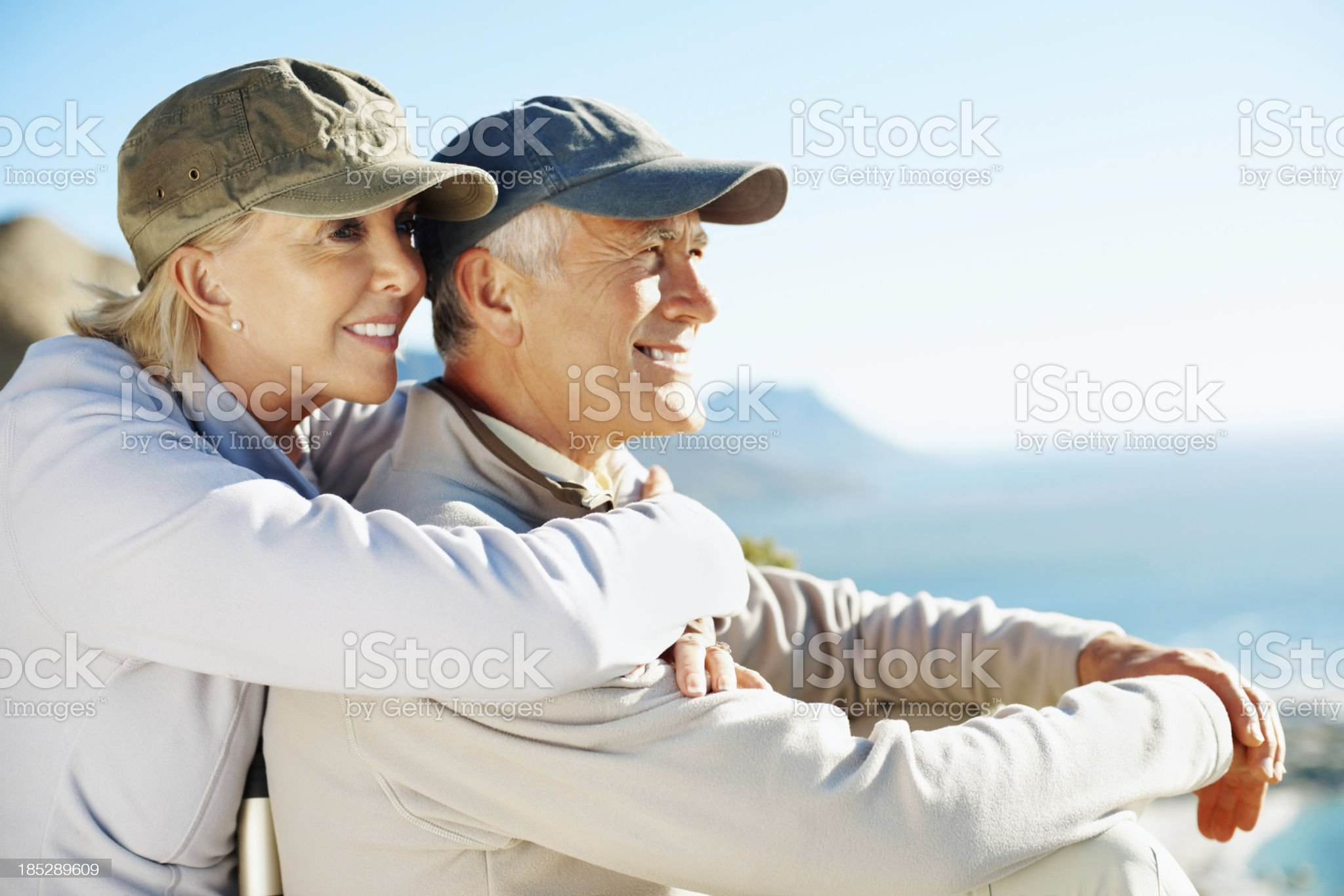 Enjoying our love for the outdoors royalty-free stock photo