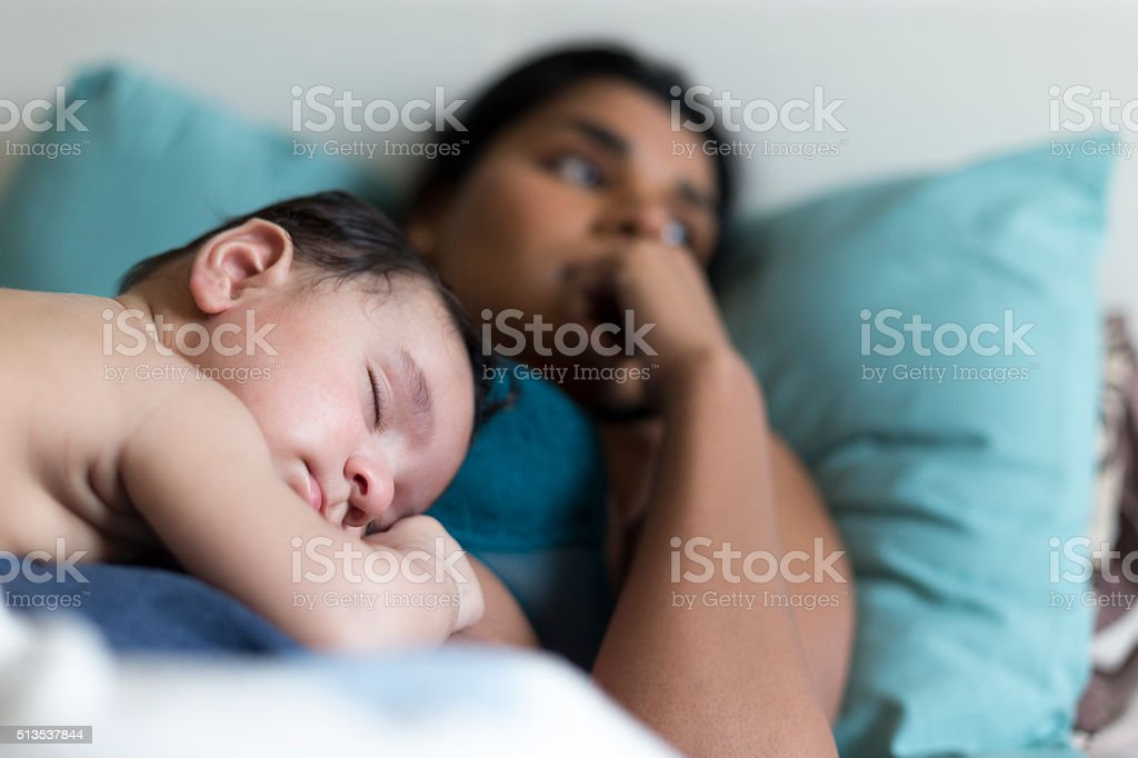 Enjoying peace while it lasts stock photo