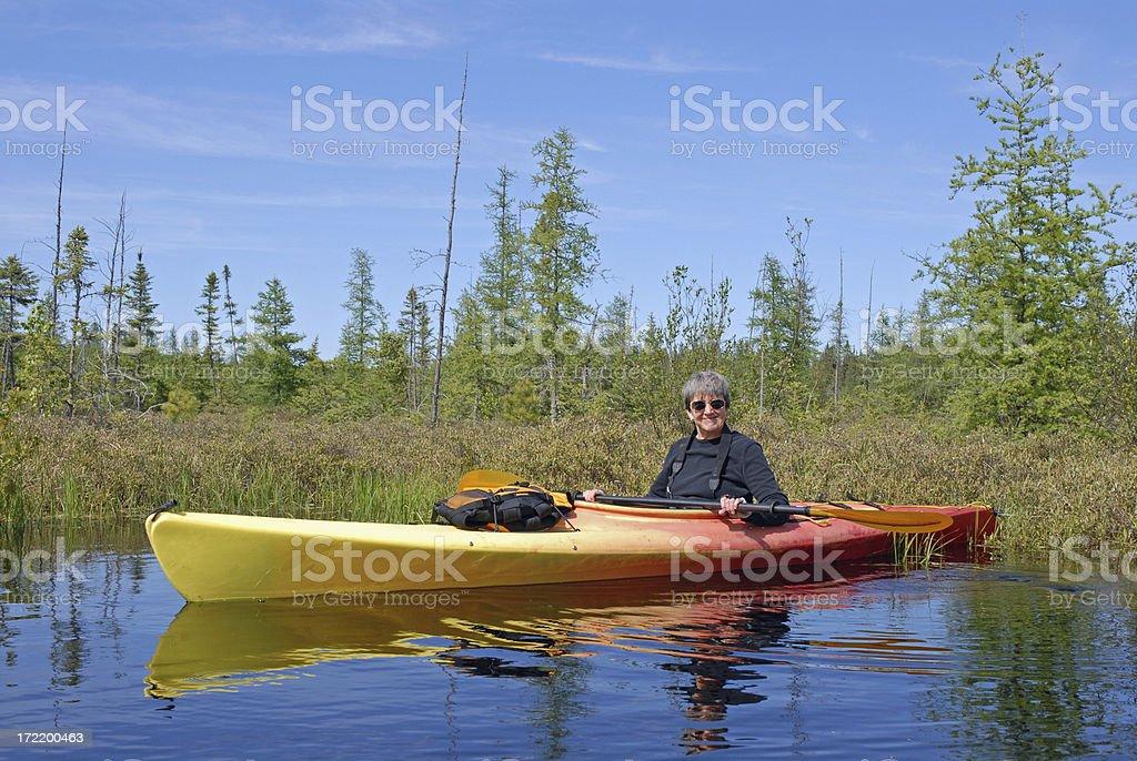 Enjoying Retirement! royalty-free stock photo
