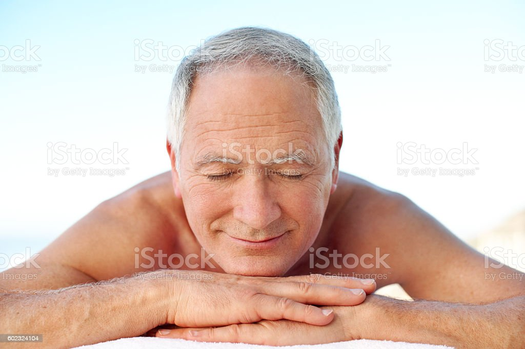 Enjoying some rest and relaxation stock photo