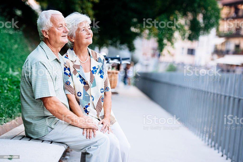 Enjoying Summer Together stock photo