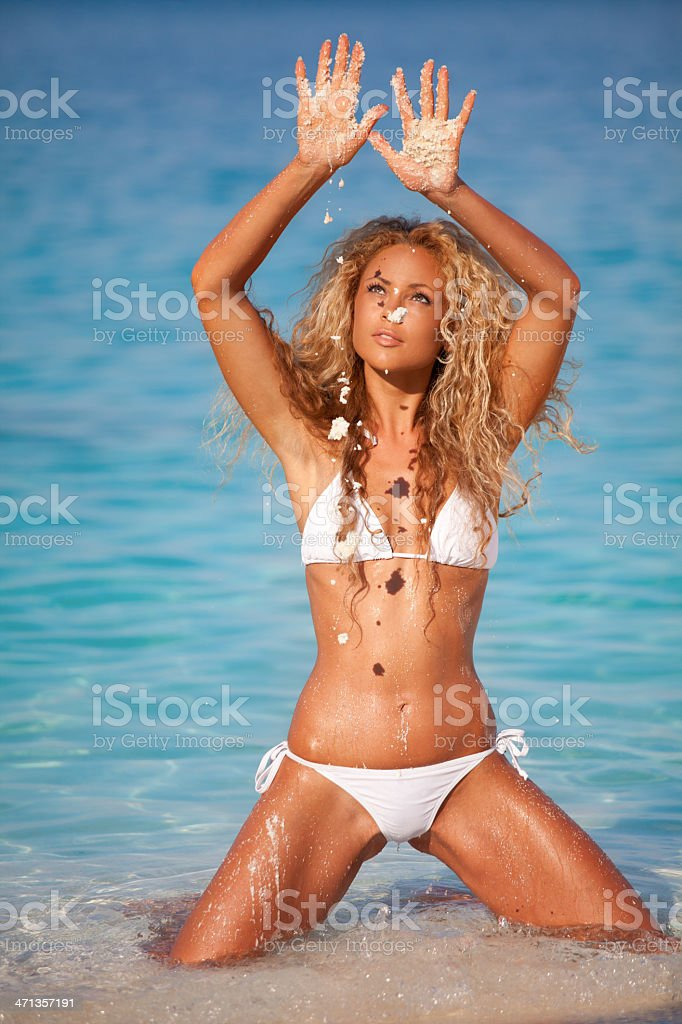 Enjoying the summer royalty-free stock photo