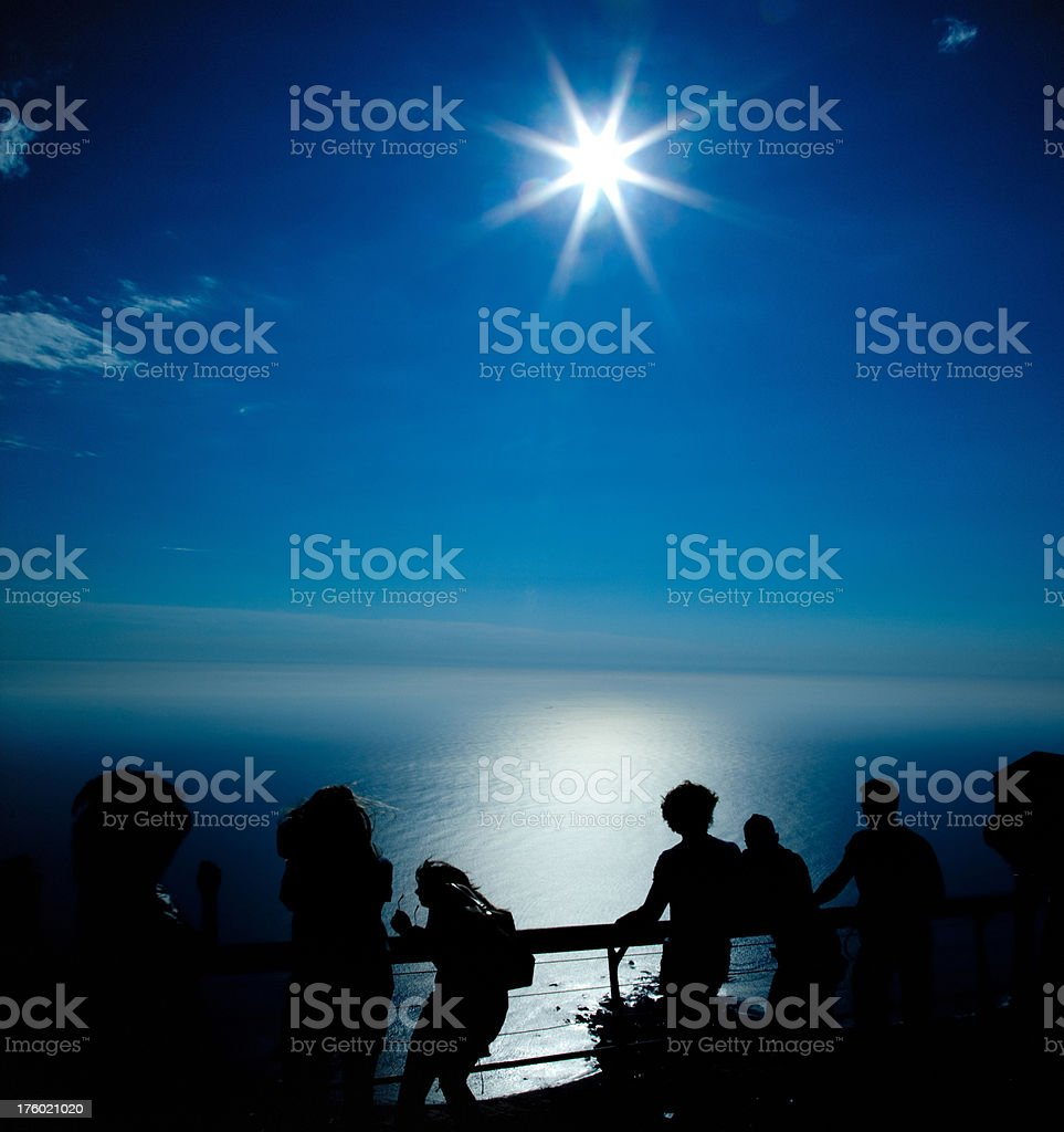 Enjoying the view royalty-free stock photo