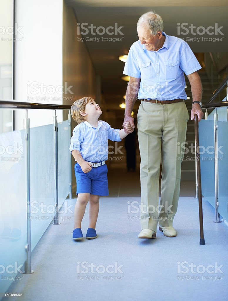 Enjoying their time together royalty-free stock photo