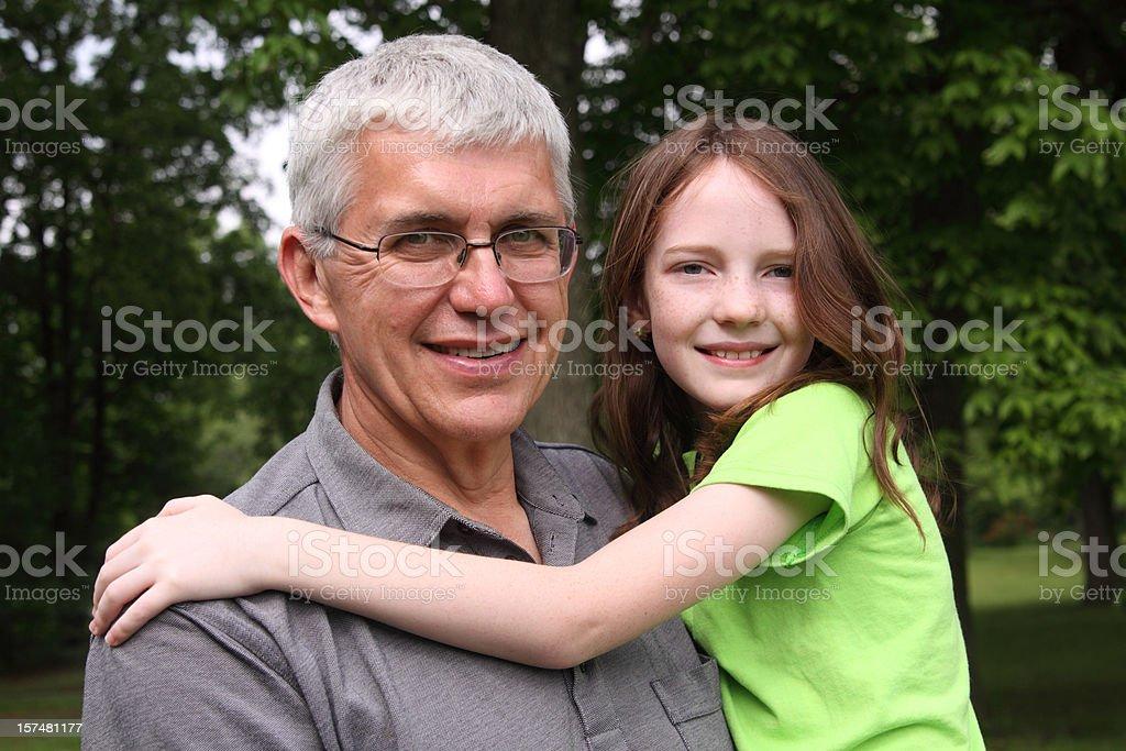 Enjoying Time Together royalty-free stock photo