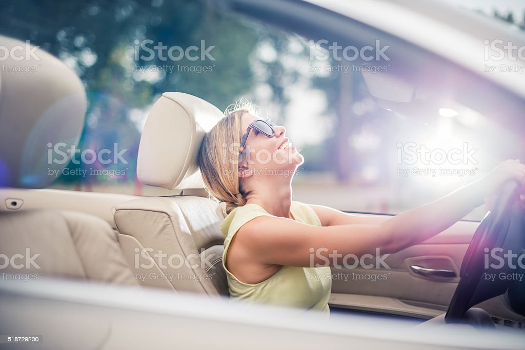 Enjoying traveling stock photo