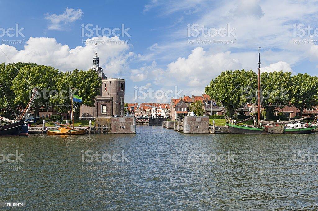 Enkhuizen Netherlands royalty-free stock photo
