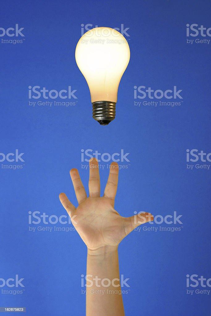 Enlightening royalty-free stock photo