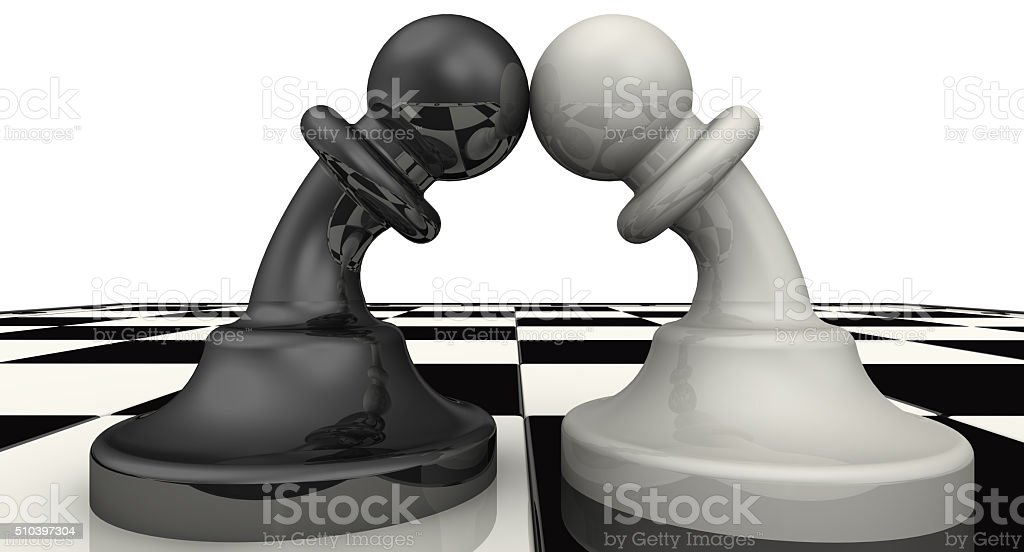 Enmity. Concept stock photo