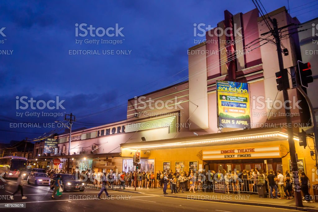 Enmore Theatre stock photo