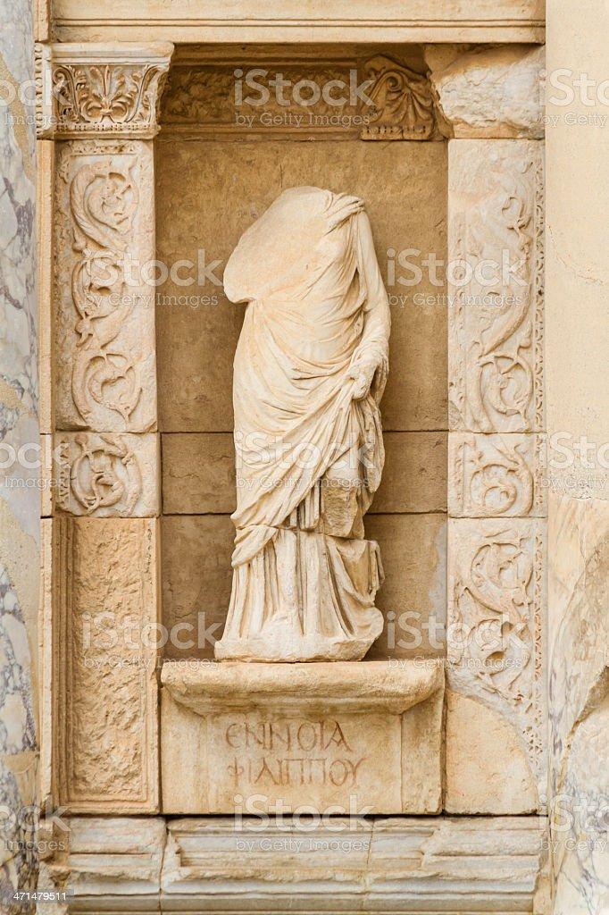 Ennoia in Ephesus, The Intellect royalty-free stock photo