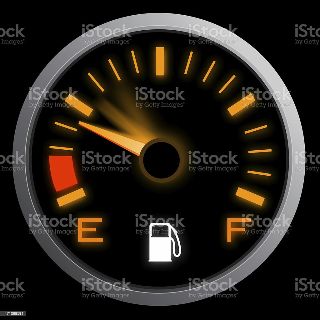 Enormous Fuel Consumption royalty-free stock photo
