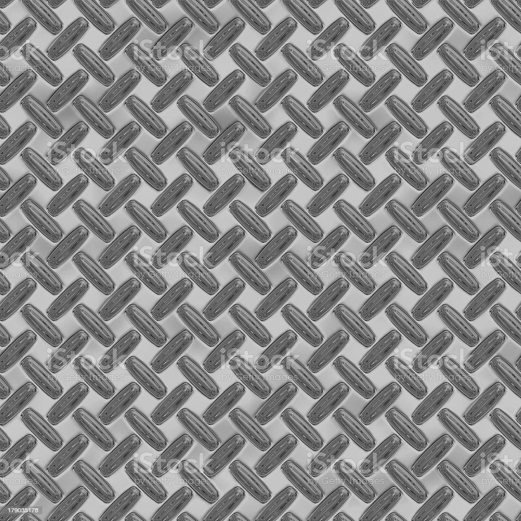 enormous sheet of diamond plate metal royalty-free stock photo