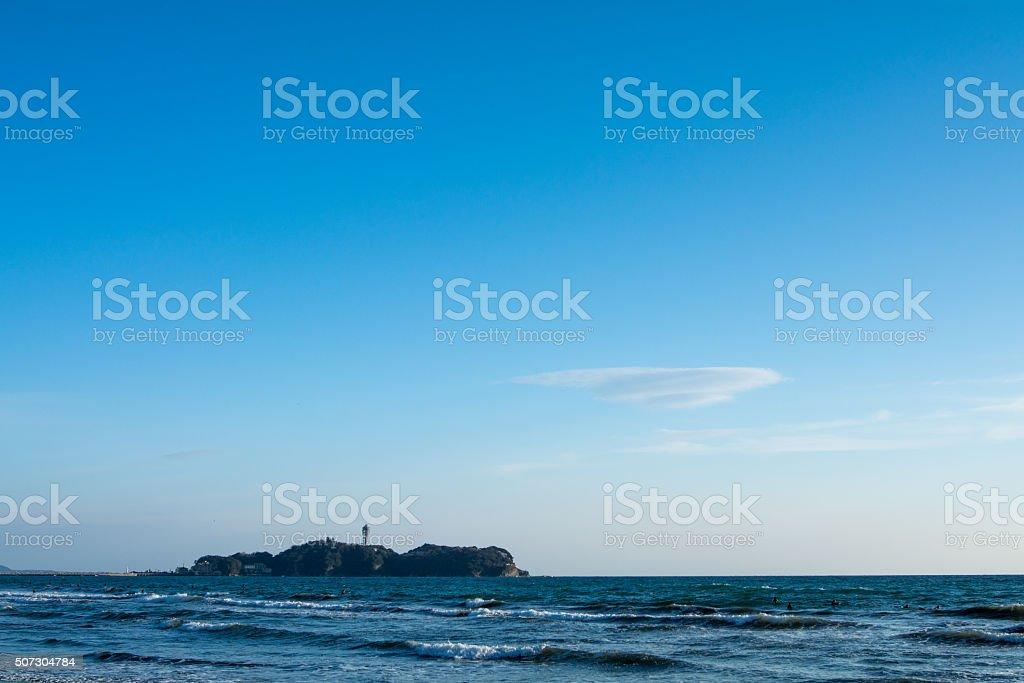 Enoshima Island stock photo